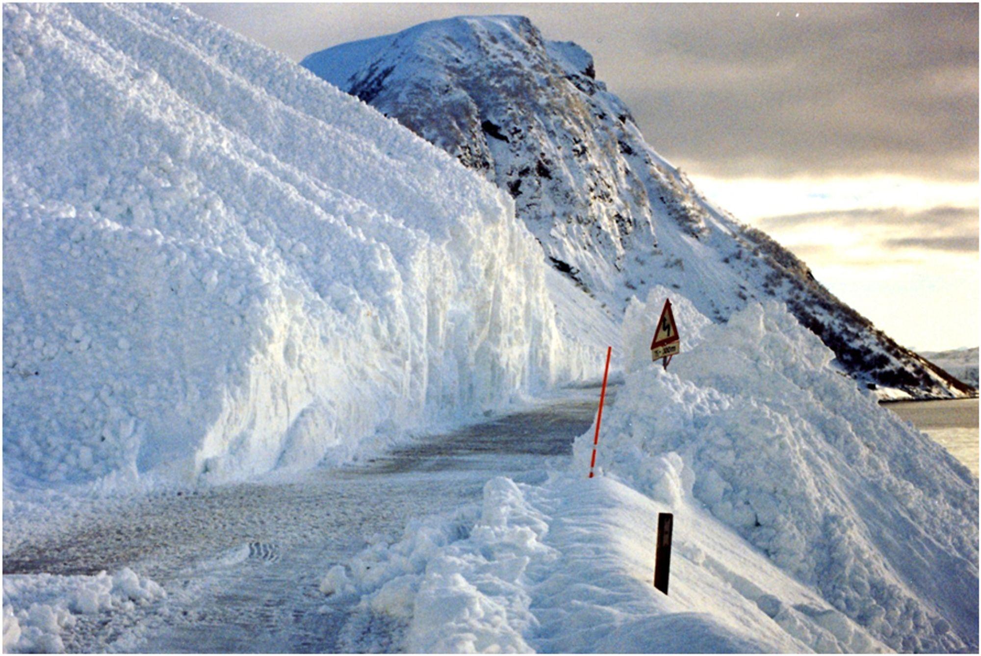 Skredsikringsbehov på 8 milliarder i Nord-Norge