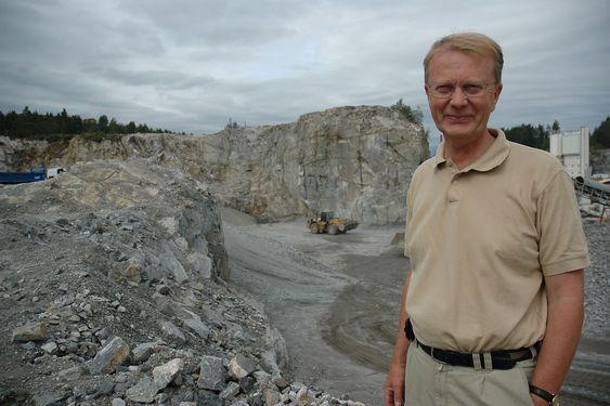FORNØYD: NGUs Peer-Richard Neeb ser en positiv utvikling for bergindustrien.
