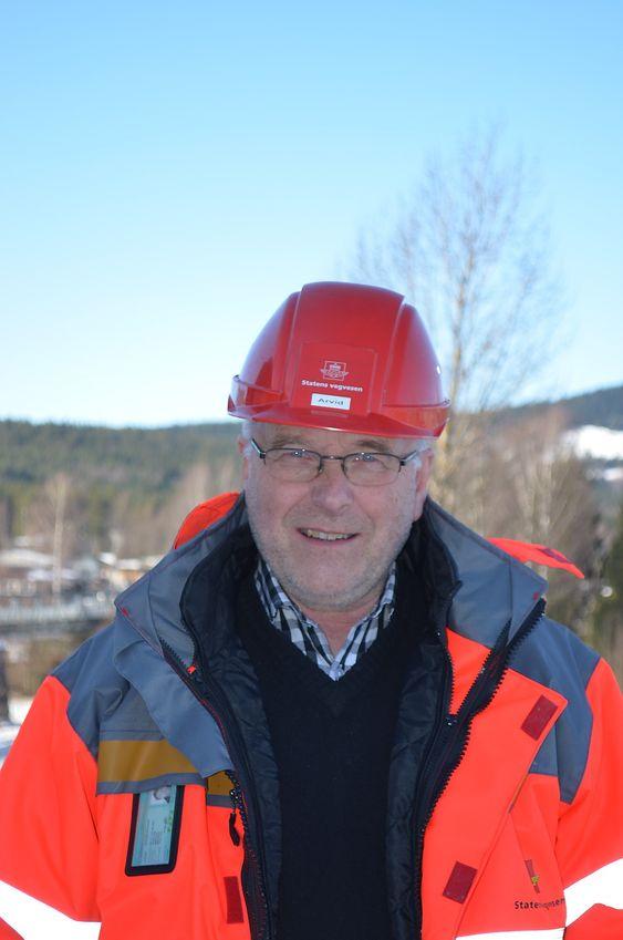 – Vi er spent på den nye teknikken for registrering av grunnforhold, sier Arvid Kr. Sagbakken i Statens vegvesen
