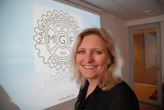 Direktør Anita Helene Hall i Maskingrossisternes Forening.
