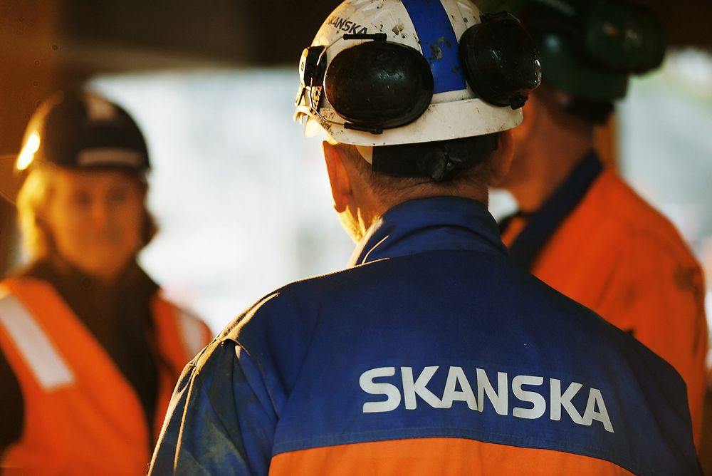Solid fjorår for Skanska