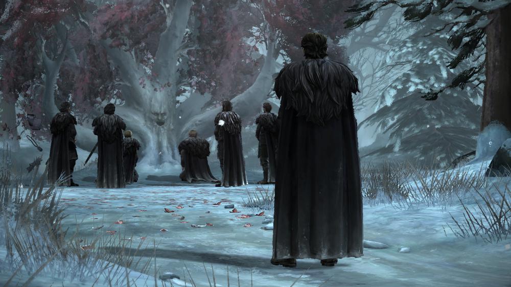 Spillet danderer enkelte scener med leken eleganse.