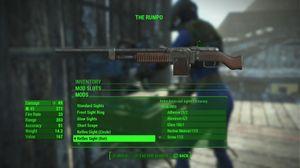 Du kan bruke modifikasjoner fra ett våpen på andre våpen.