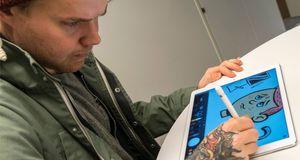 Slik er det å tegne med Apples nye blyant