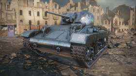 Ved å delta i World of Tanks-betaen kan du sikre deg denne PlayStation-inspirerte stridsvognen.