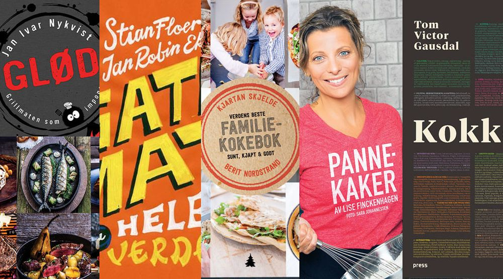 Her er årets beste norske kokebøker