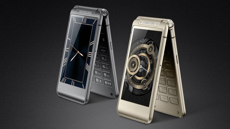 Den nye klapptelefonen W2016.
