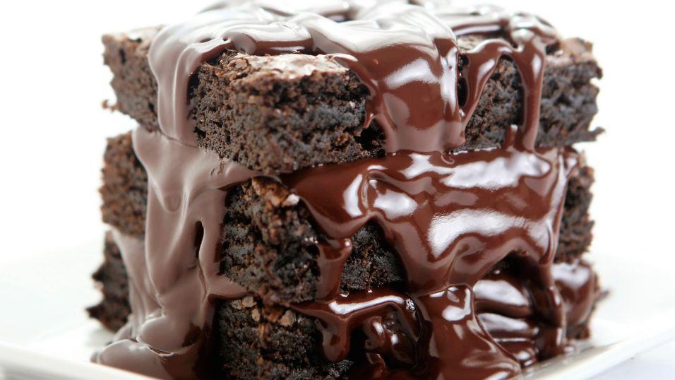 Bak en djevelsk god sjokoladekake