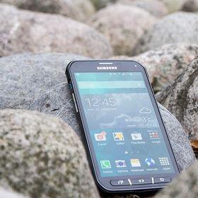 Android-produsenter har lenge syslet med vanntette produkter. Her representert ved Samsung Galaxy S5 Active.