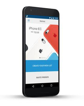 Man vil ha tilgang til et eget nettmarked direkte via appen.