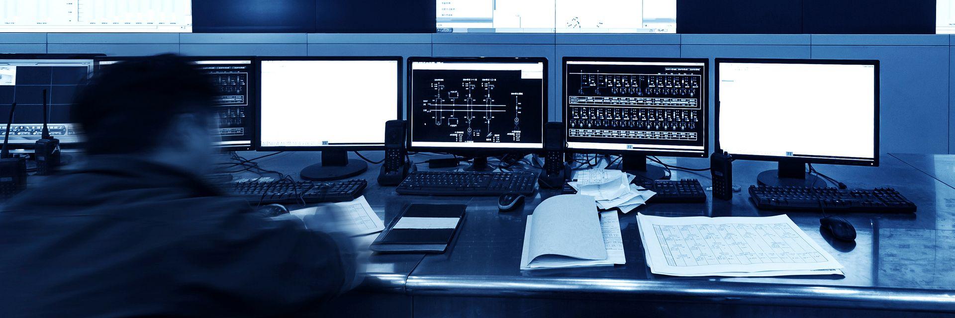 Livsviktig: Kontrollrom er som oftest rolige, men når viktige hendelser inntreffer må de fungere optimalt.