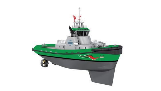 Drydocks World i Dubai har begynt byggingen av en serie på ni LNG-drevne taubåter. Wärtsilä har gjort design og skal levere LNG-motorer og drivstoffsystem.