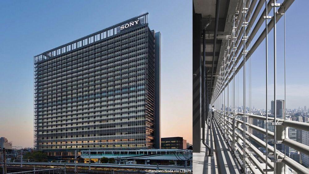 NBF Osaki Building er det første bygget i verden med Bioskin-rør.