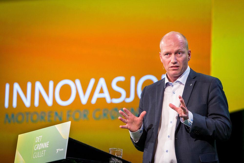 Statoil er inovative også i språkveien, og lanserete begrepet «lavkarbon olje» på Enova-konferanasen i Trondheim i går.