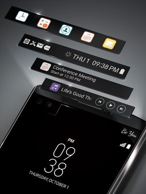 En sekundær skjerm kan brukes til så mangt...