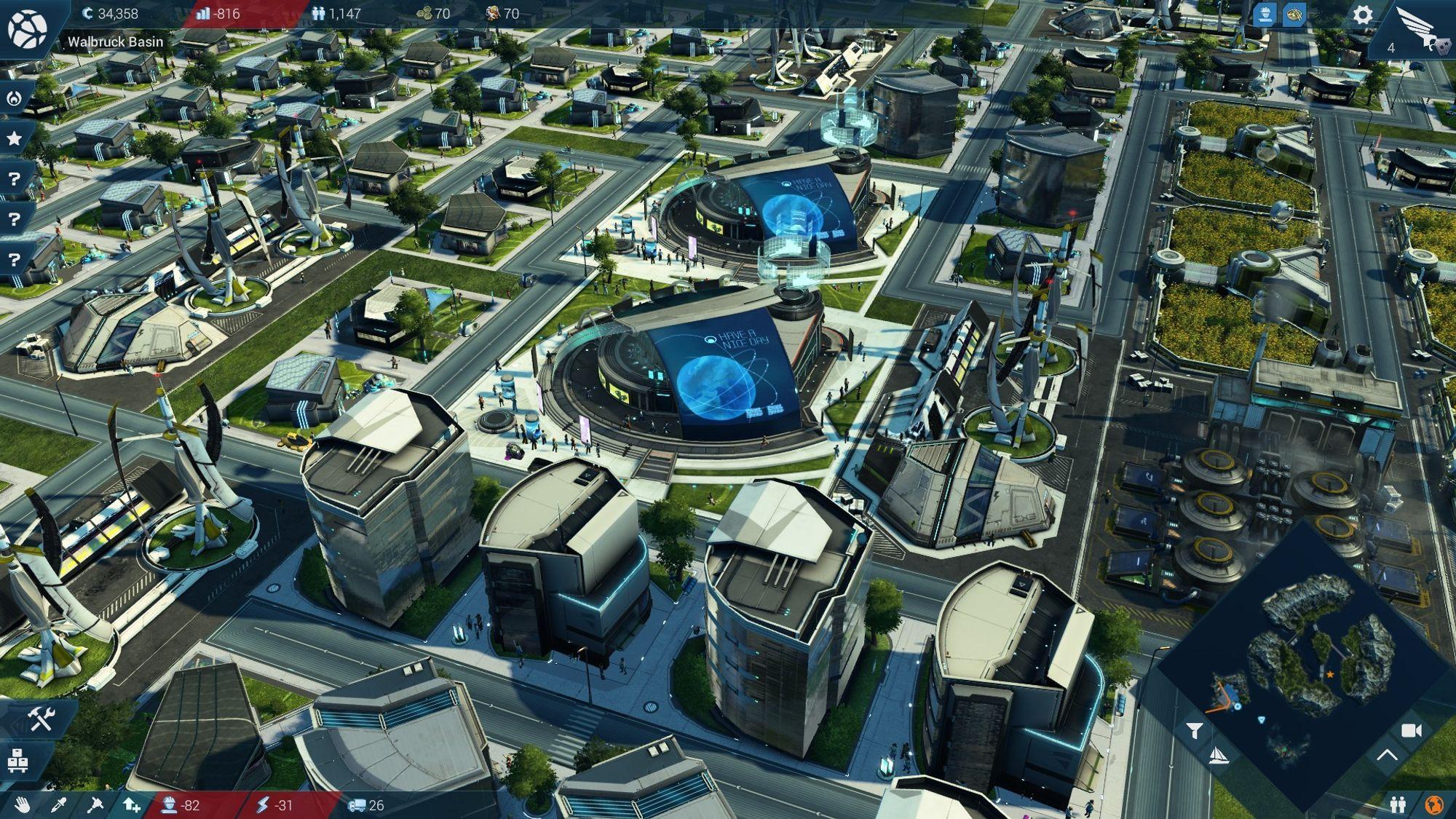 Det er morsomt å følge med på hvordan byen utvikler seg.
