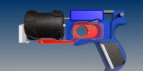 Våpenet er fullstendig 3D-skrevet, med et par små unntak.