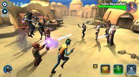Star Wars: Galaxy of Heroes får også fortsatt støtte.