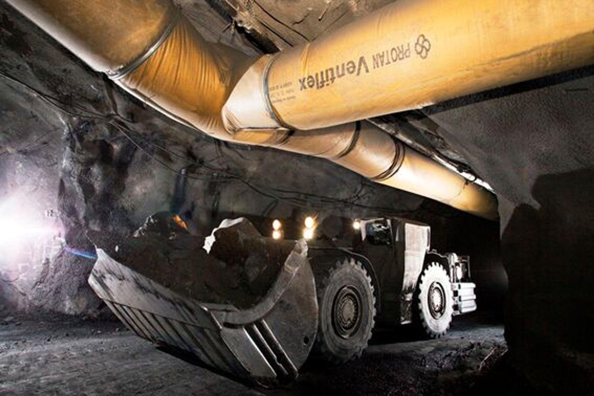 Selskapet Protan leverer PVC-rør som benyttes i tunneler under utgraving. Miljøorganisasjoner reagerer på materialvalget.