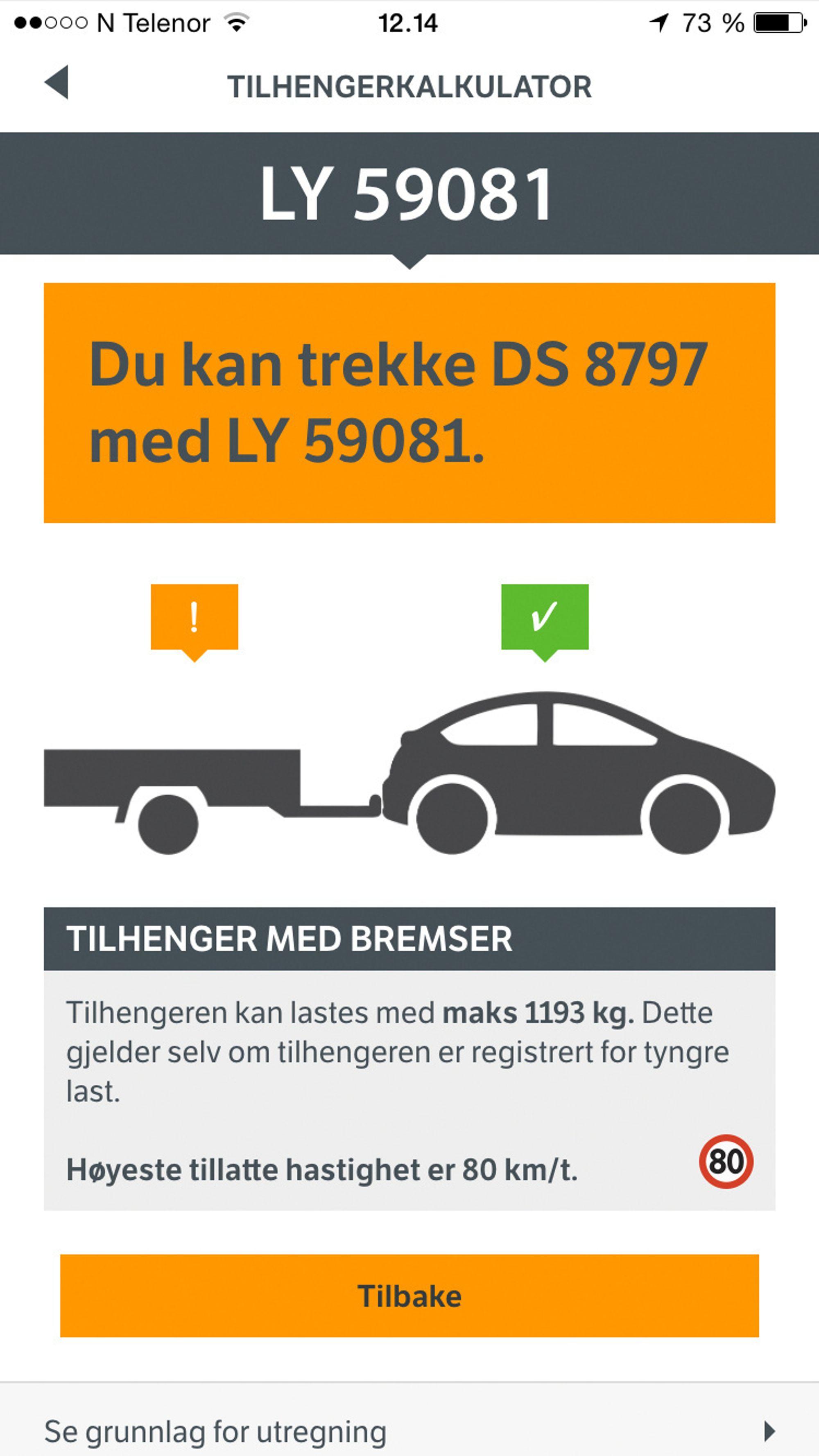 Registreringsnummer bil navn