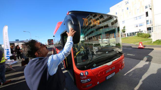 Nå ruller 54 splitter nye busser ut i hovedstaden