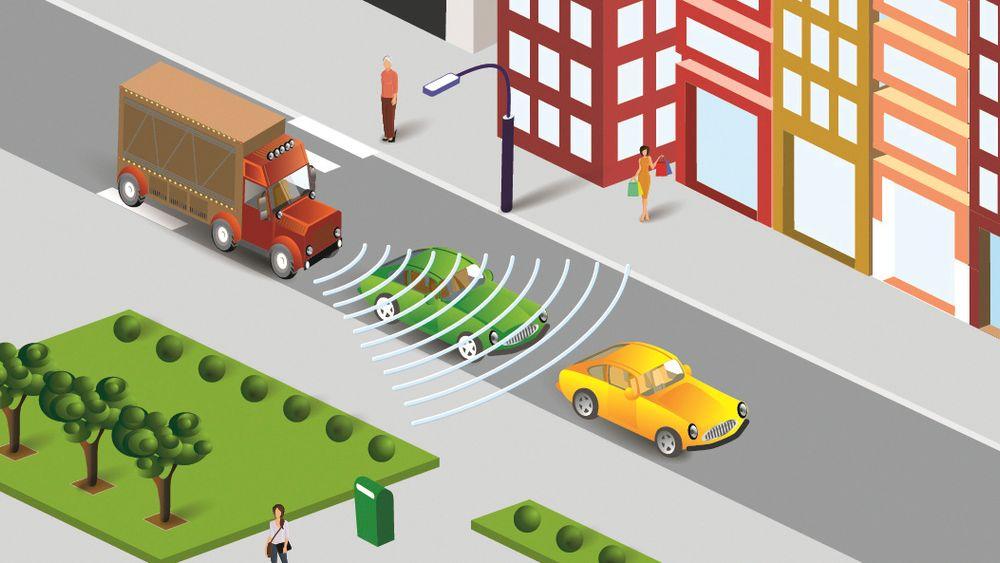 Fra 1. november blir det påbudet med automatiske bremser i alle nye tunge kjøretøy.