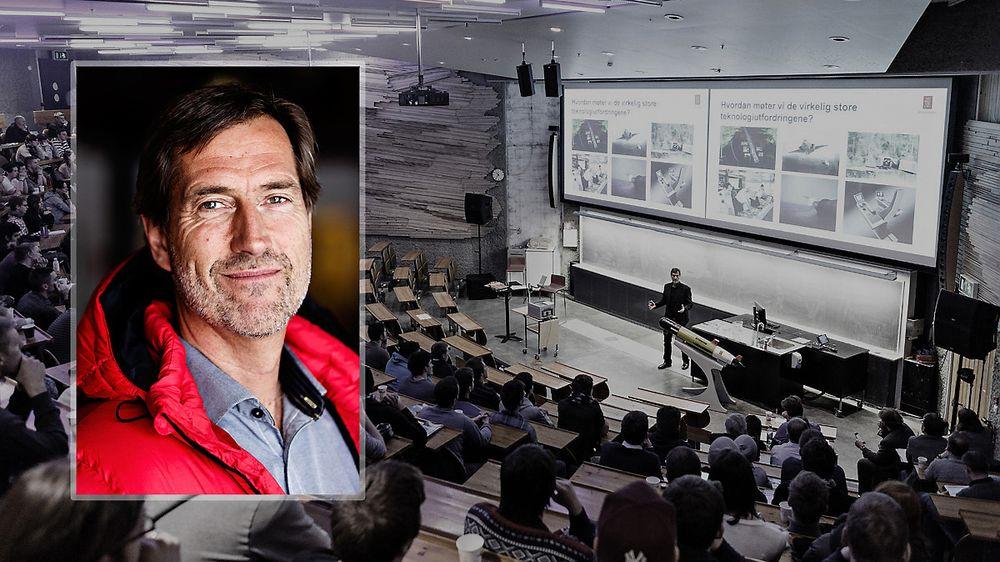 Omstilingsdyktige: Teknologiendringer skaper nye konkurransevilkår. Det kan Norge dra nytte av, selv om vi er små, mener Kongsberg Gruppens konsernsjef Walter Qvam.