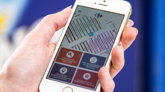 Her er jeg: Appen forteller deg akkurat hvor du er og hvor det du leter etter befinner seg