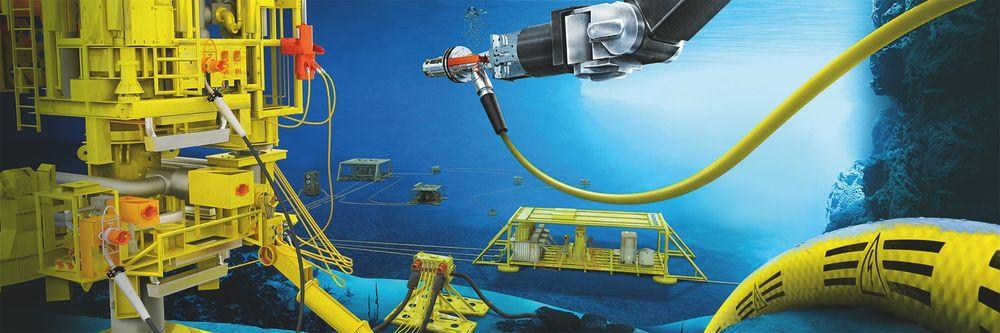 Statoil satser på å finne teknoløsninger som kutter kostnader i samarbeid med innovasjonsmiljøet i Trondheim. Illustrasjon viser automatiserte ekstraksjonsfelt på havbunnen som er planlagt tatt i bruk fra 2020.