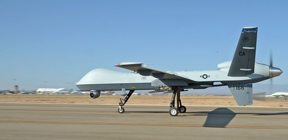 En av California Air National Guards MQ-9 Reaper-droner.