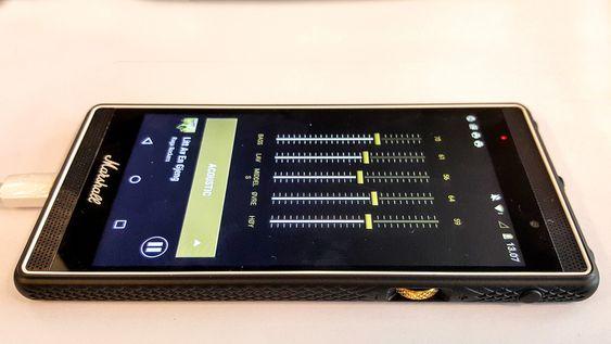 Global kontroll: Alle musikkappene kan lydjusteres via telefonens egen equalizer.