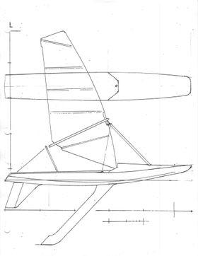 Studentene har fått proffe seilbåtdesignere til å gå gjennom designen.