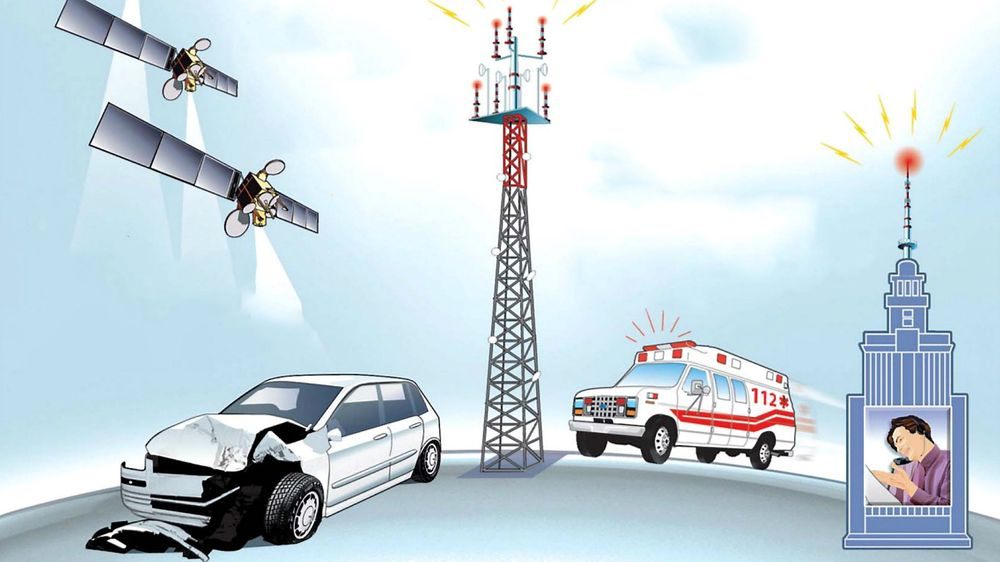 Ecall gjør biler i stand til å automatisk kommunisere med nødsentralen.