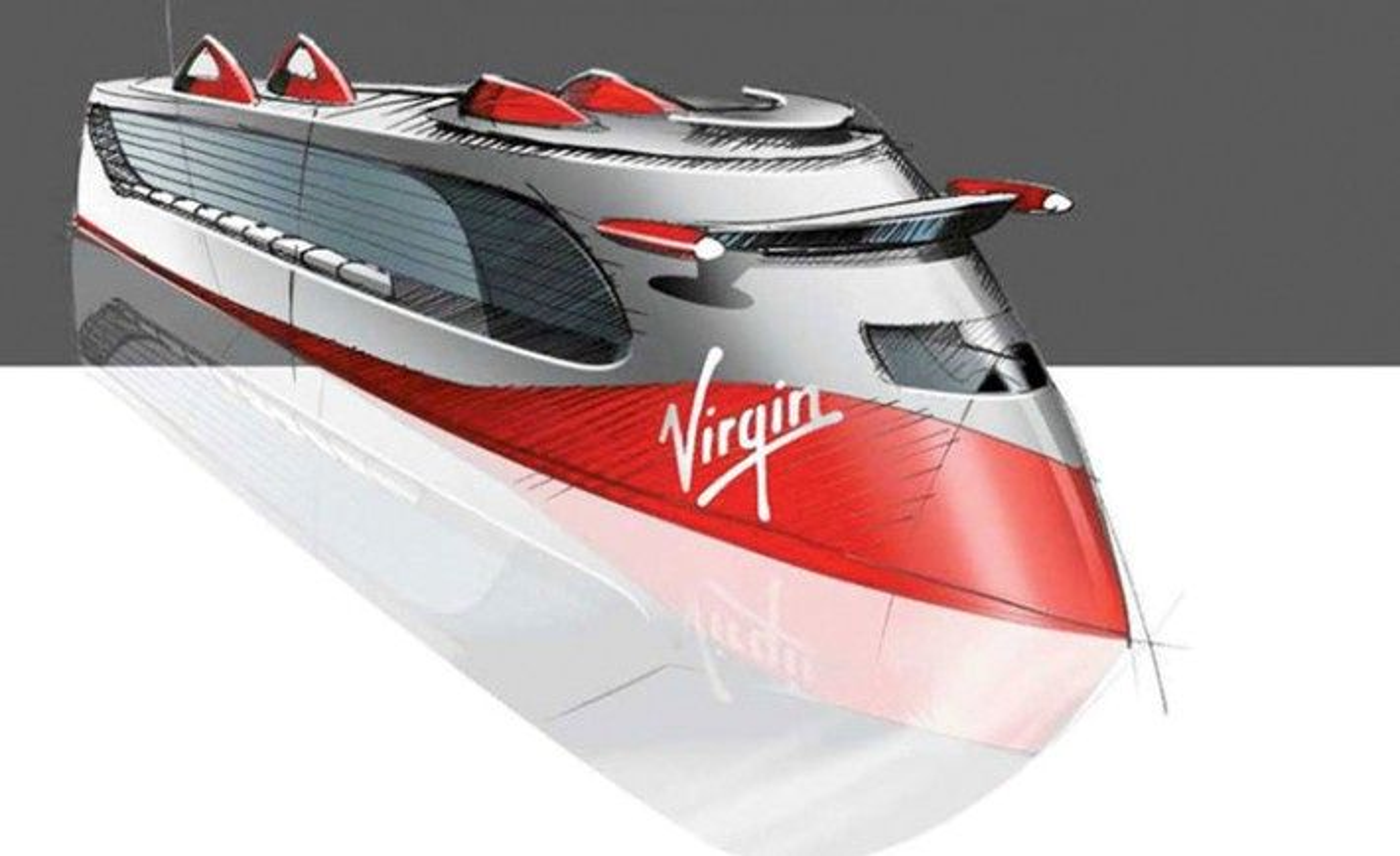 Baugen på de store cruiseskipene er til forveksling lik Ulsteins patenterte X-Bow.