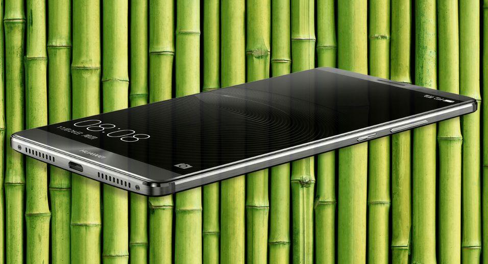 Nye Mate 8 fra Huawei.