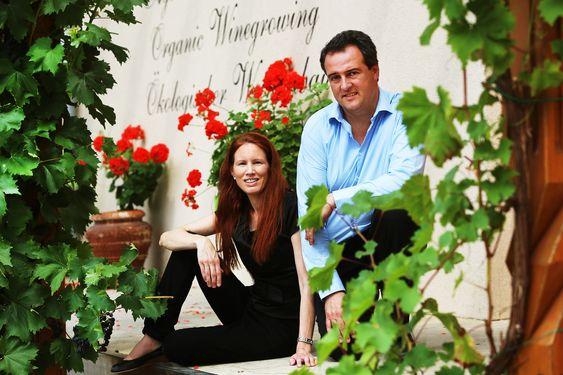 Sandrine og Xavier Engel sørger for også en tredje generasjon Engel.