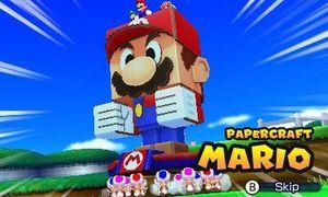 Pappfigurene kommer i mange former, fra Mario til Yoshi.