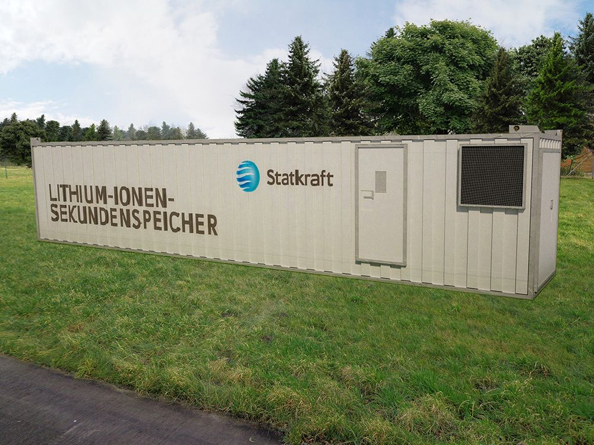 Statkraft setter opp tre kontainere med batterier på 1 MW hver som skal levere regulerkraft til det tyske strømnettet.