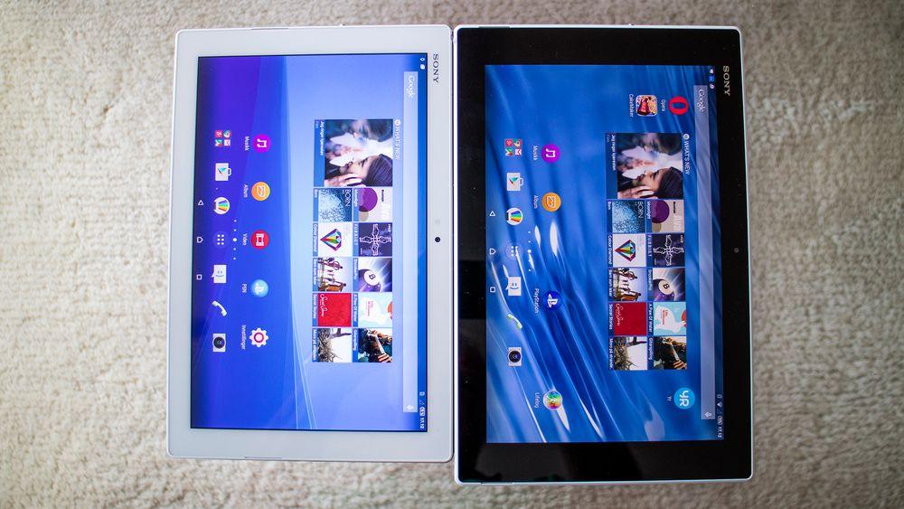 I forhold til sin litt over et år gamle forgjenger Xperia Z2 Tablet, har Xperia Z4 Tablet den samme skjermstørrelsen, men med høyere lysstyrke og oppløsning.  Nettbrettet er også 50 gram lettere og med mindre ramme rundt skjermen. Likevel er batteristørrelsen den samme.