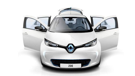 Renault Zoe har lengst rekkevidde av de «vanlige» elbilene, med 240 km etter NDEC-standarden.