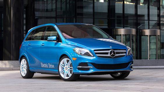 Mercedes-Benz B-klasse Electric Drive har god rekkevidde og relativt kraftig ytelse.