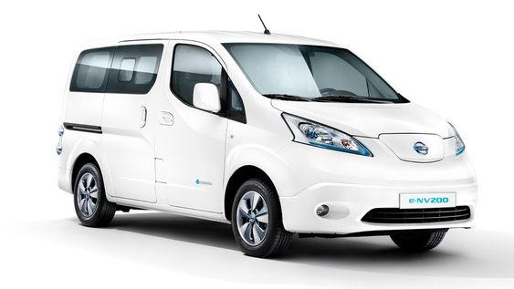 Nissan e-NV200 Evalia er en elektrisk familiefrakter som kan konverteres til varebil når du trenger det.