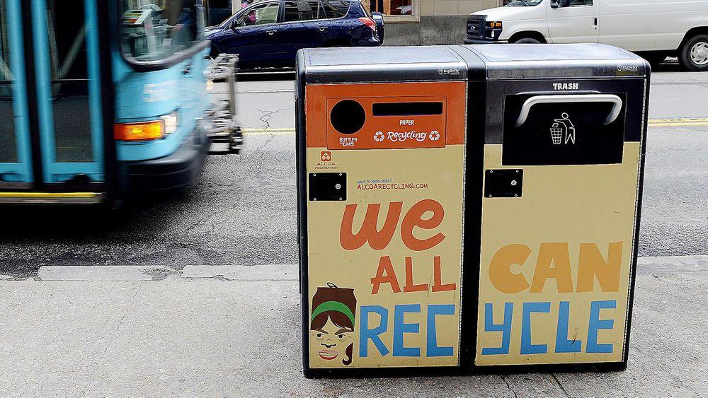 170 smarte søppelspann er plassert på Manhattan i New York. De er langt fra de dumme boksene vi kjenner i Norge.
