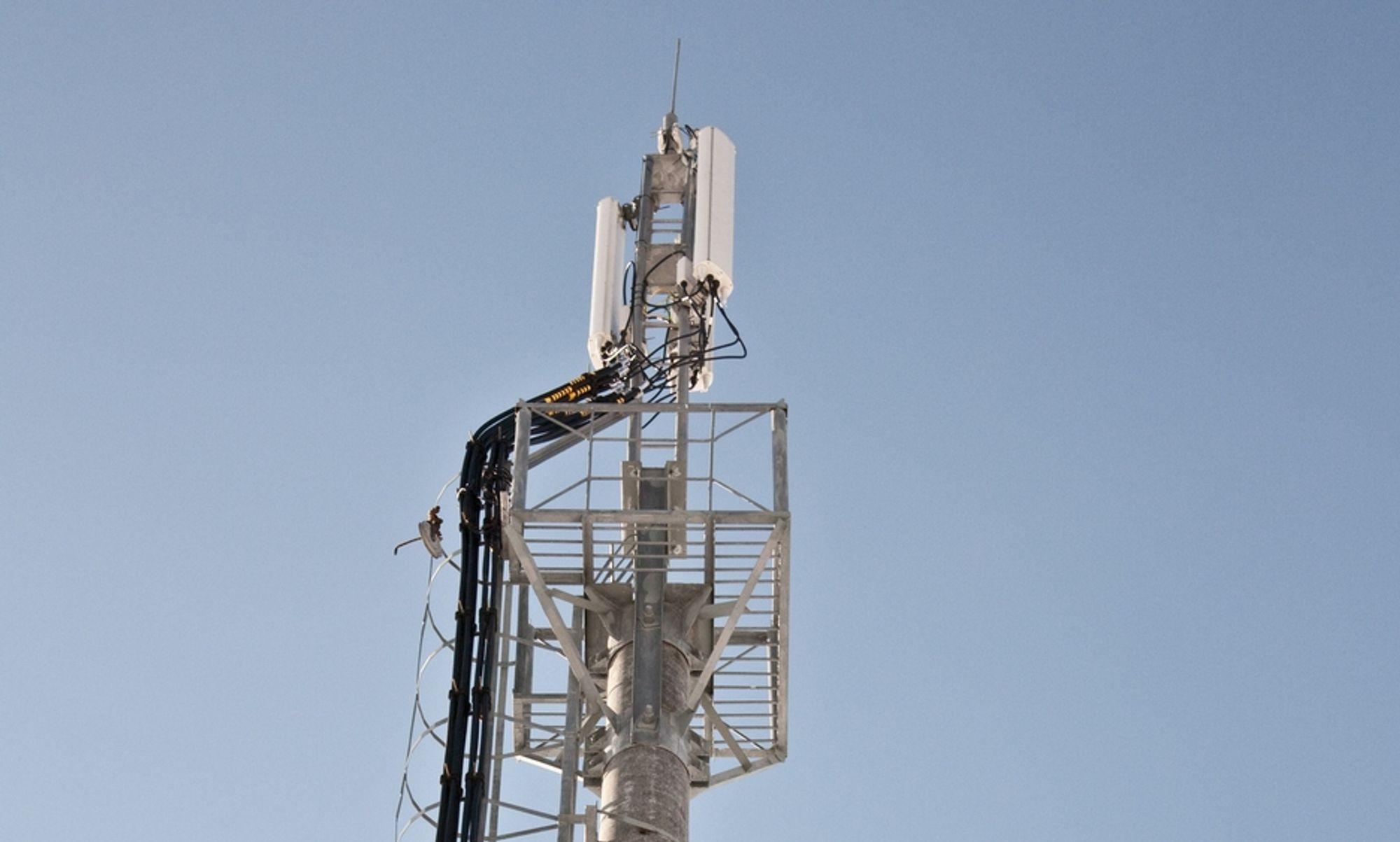 OPPGRADERING: Telia Danmark skal modernisere mobilnettet, og 3 av 4 innbyggere får tilgang til 4G i løpet av året.