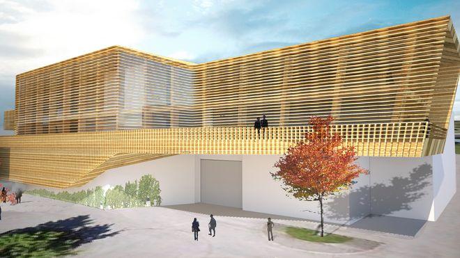Dette bygget skal gjøre byggebransjen mer miljøvennlig