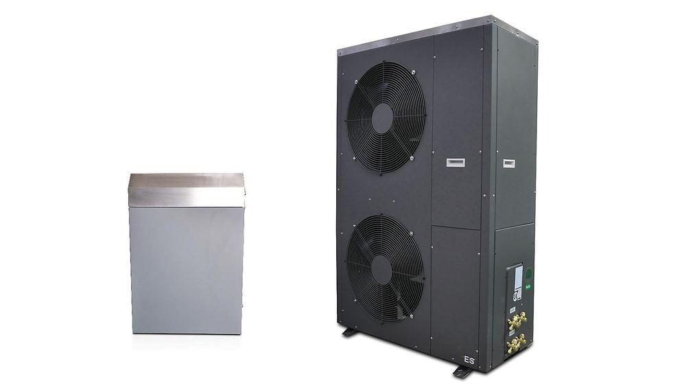 Varmepumpen i nabotvisten er av typen Energy Save, modell AW48.4-llU-IFC.