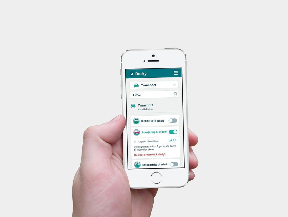 Gründerne bak Ducky håper appen får folk til å føle at de er med på å håndtere klimakrisen.