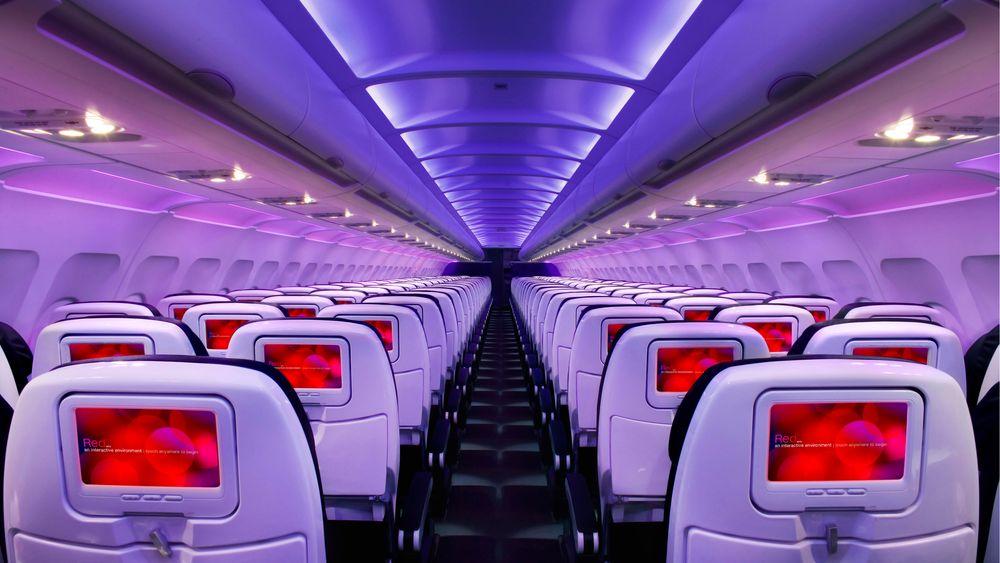 I Virgin Americas 10 nye Airbus-fly vil det fra september av bli langt kjappere å være tilkoblet wifi.
