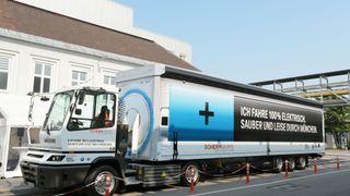 I dag ruller BMW ut denne el-lastebilen