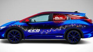Ny Honda kjørte gjennom Europa på under 0,3 liter på mila
